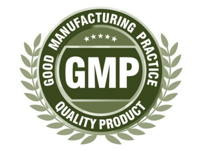 Certification of good manufacturing practices
